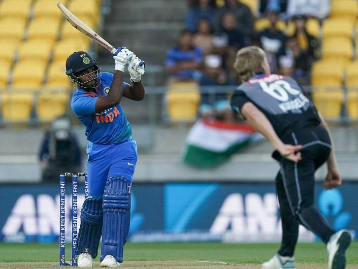 Sanju Samson was part of the XI for the last two T20Is