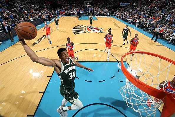 Giannis Antetokounmpo made all the difference the last time these two sides faced off