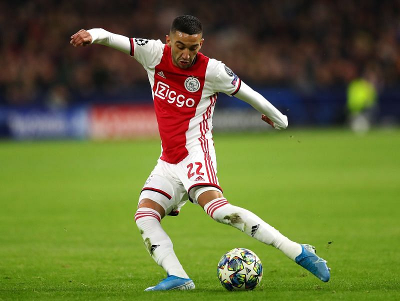 Ziyech has one of the strongest left-foots in the world at the moment