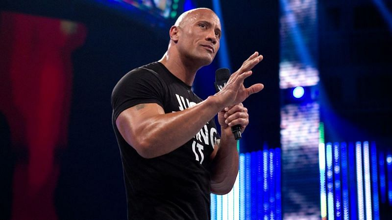 The Rock is one of WWE