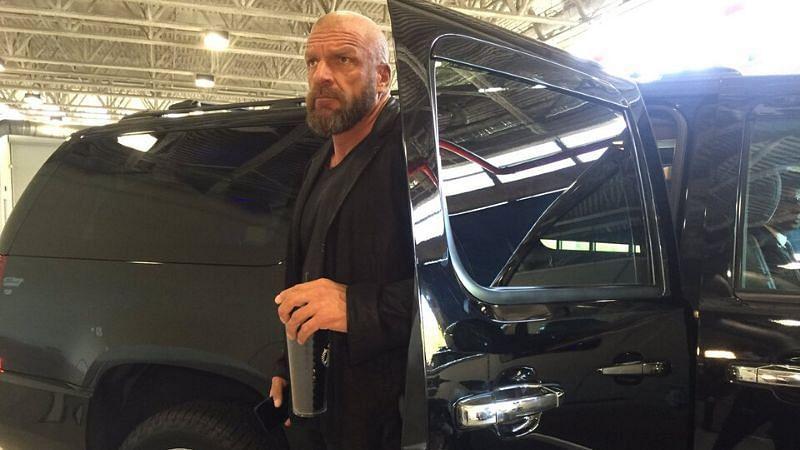 Triple H formed Evolution in 2003