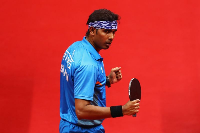 Top Indian table tennis player Sharath Kamal