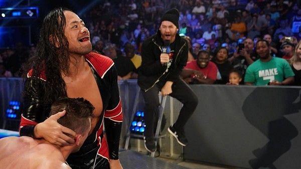 Shinsuke Nakamura and Sami Zayn on SmackDown