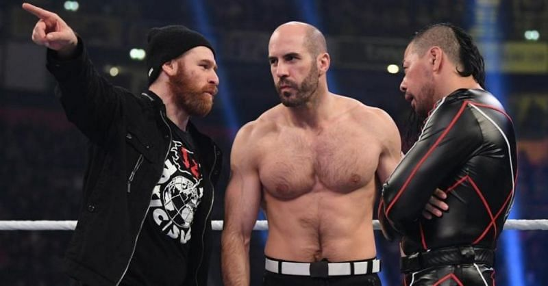 Sami Zayn is currently the manager of Shinsuke Nakamura and Cesaro on SmackDown Live