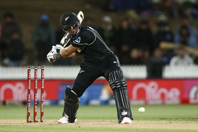 Ross Taylor's century ensured that New Zealand chased down 348 to beat India in the first ODI