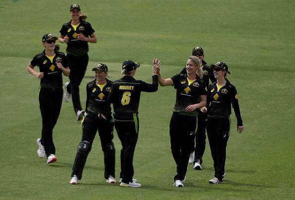ऑस्ट्रेलियाई महिला टीम की शानदार जीत