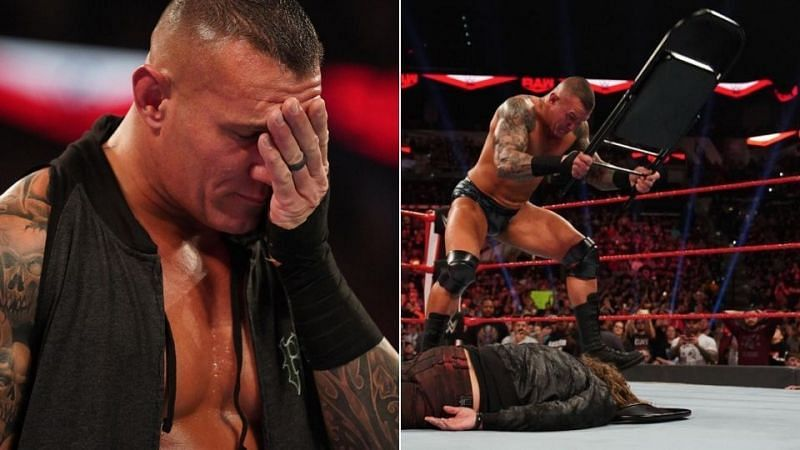 Why did Randy Orton refuse to explain his actions?
