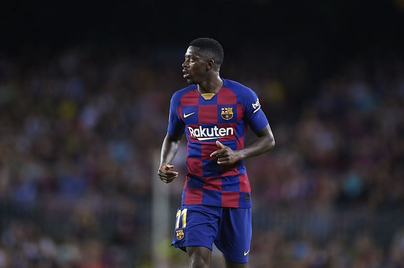 Ousmane Dembele has been ruled out for the rest of the season owing to an injury