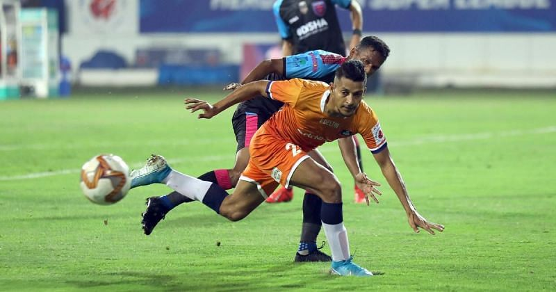 S eriton Fernandes has put up a decent defensive display from FC Goa.