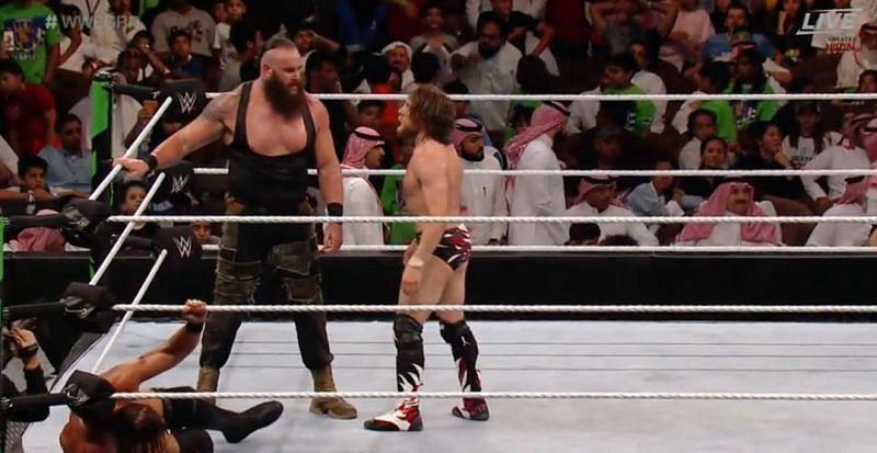 Braun Strowman and Daniel Bryan
