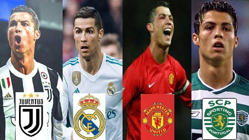 Ronaldo in club football