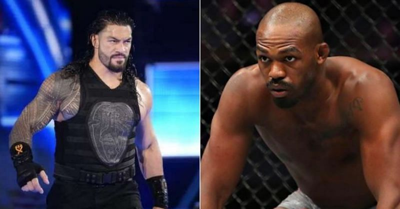 Roman Reigns and Jon Jones