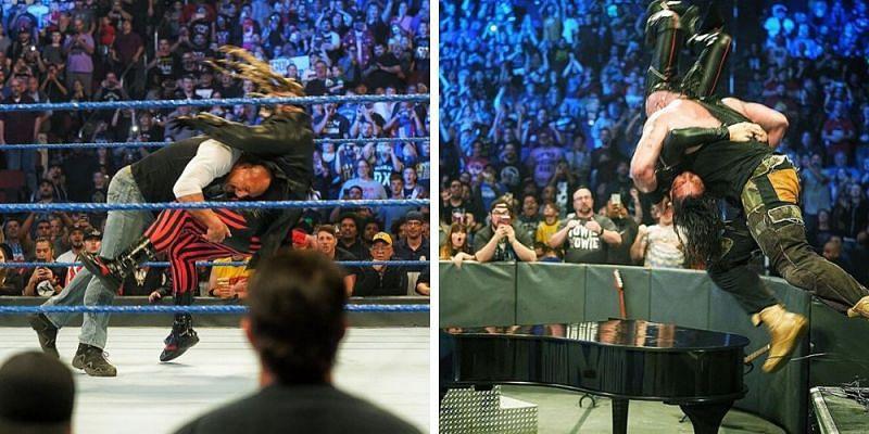 Goldberg had an interesting confrontation while Strowman got some revenge
