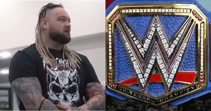 Bray Wyatt/ Universal Championship belt