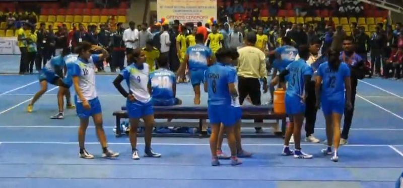 Haryana vs. Goa (Girls match)