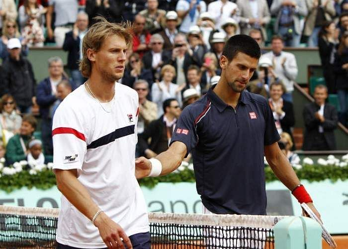 Andreas Seppi (left)