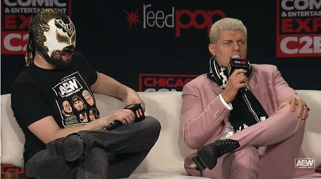 Cody Rhodes at C2E2 (Pic Source: AEW)