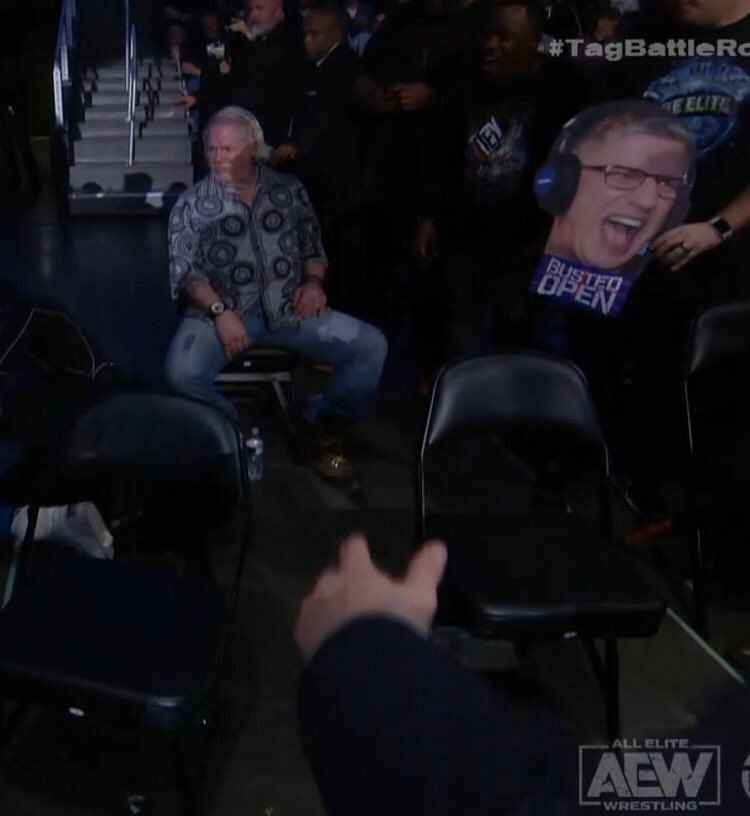 Raven during AEW Dynamite (Photo Credit: WrestlingNewsCo)