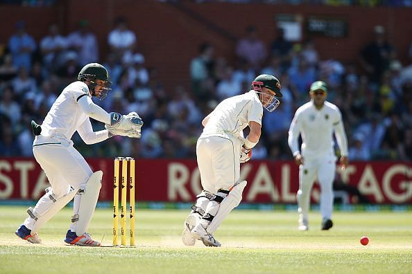 De Kock and Warner were involved in an ugly verbal spat during Australia