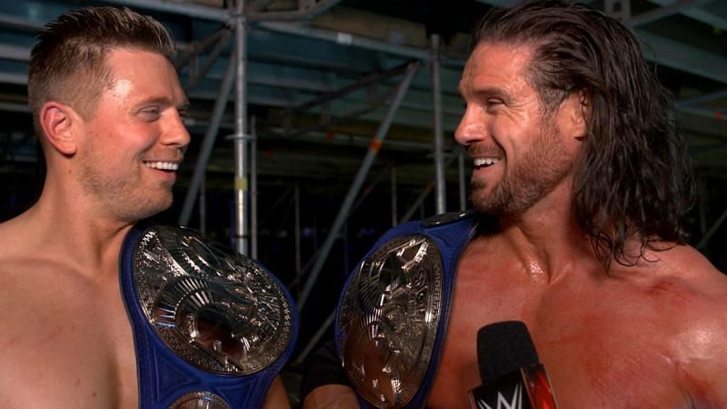 Miz and Morrison are now 3-time Tag Team Champions.