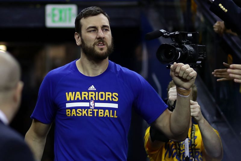 Andrew Bogut won the 2015 title with the Golden State Warriors