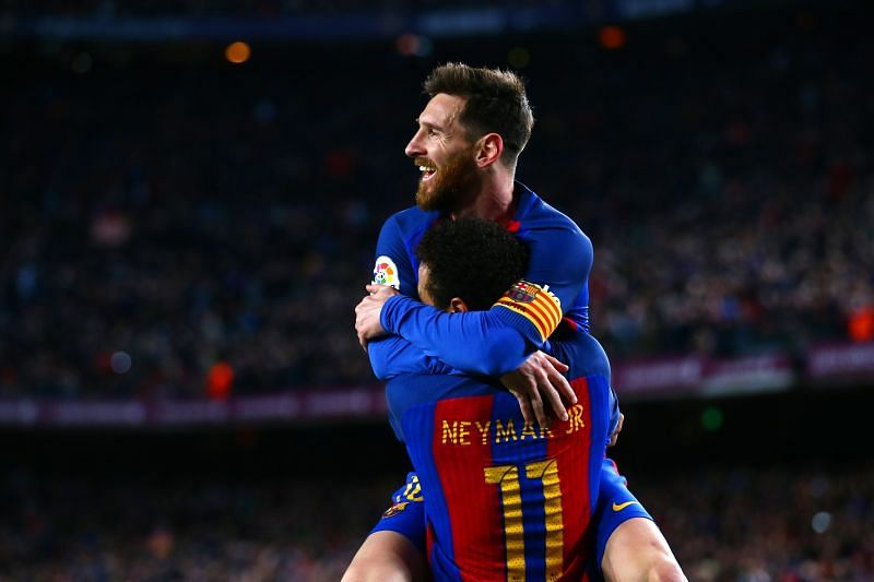 Messi hopes he can team up with Neymar next season at Camp Nou