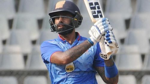 Yadav was the third highest run scorer in the 2019 Syed Mushtaq Ali Trophy