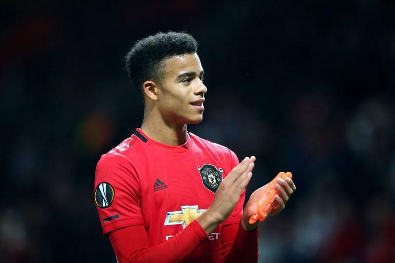 Mason Greenwood of Manchester United