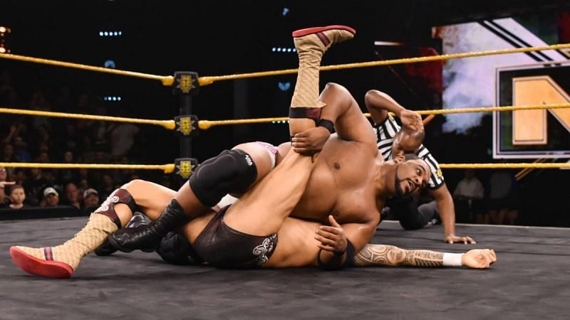 Lee defeated Reeves quickly on NXT