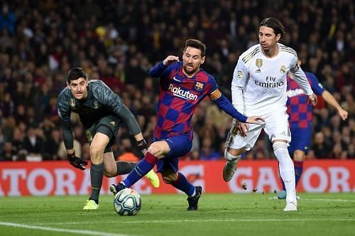 Barcelona and Real Madrid will face each other in a top-of-the-table clash on Sunday