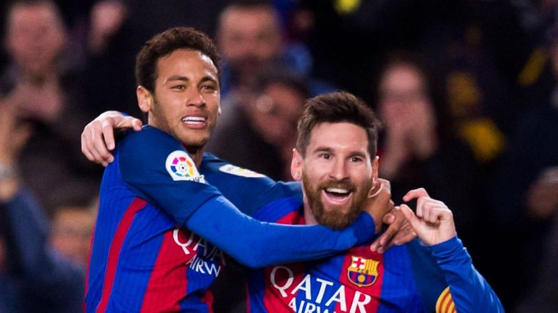 Neymar and Lionel Messi - cropped