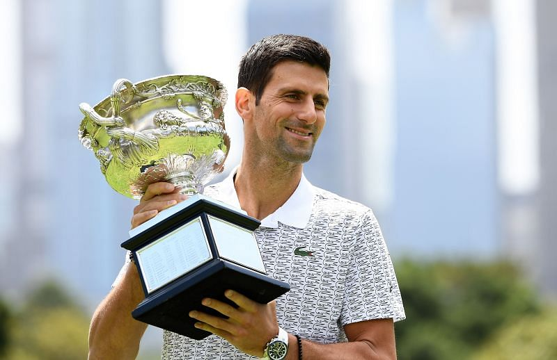 2020 Australian Open Champion: Novak Djokovic