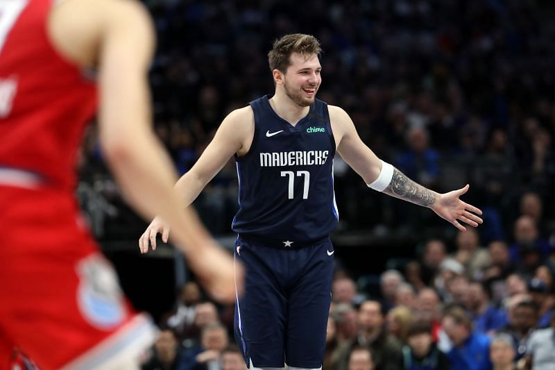 Luka Doncic leads this team in scoring, rebounding, and assists.