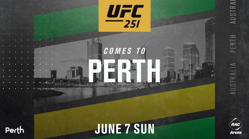 UFC is going to the land down under