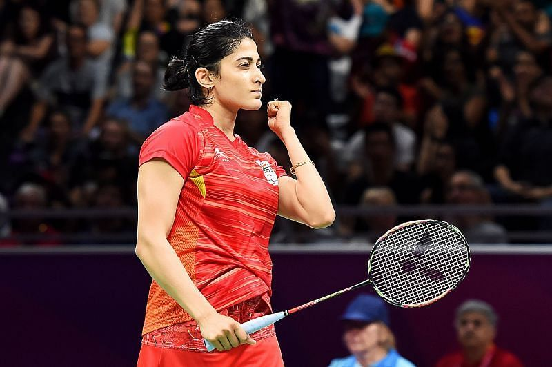Ashwini Ponnappa returned to action after a long time