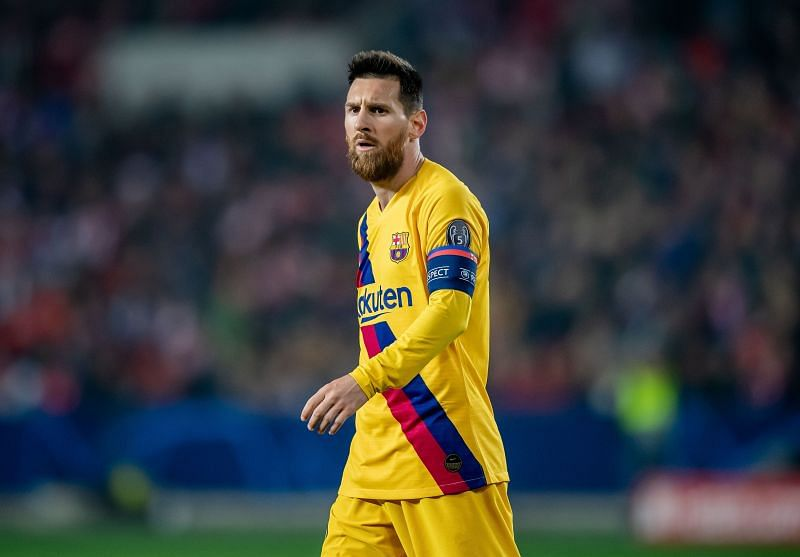 Lionel Messi will take his Barcelona side to Napoli in their quest for Champions League supremacy