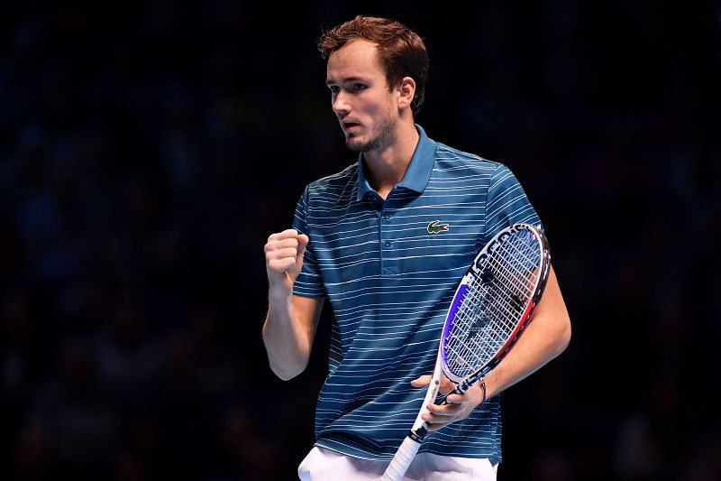 Daniil Medvedev is the top-seeded player in this competition