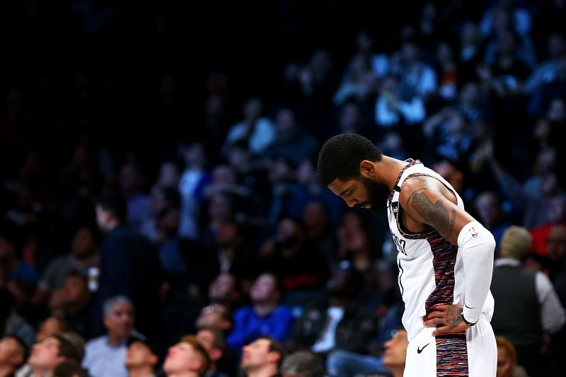 Irving has already missed 26 games due to shoulder issues