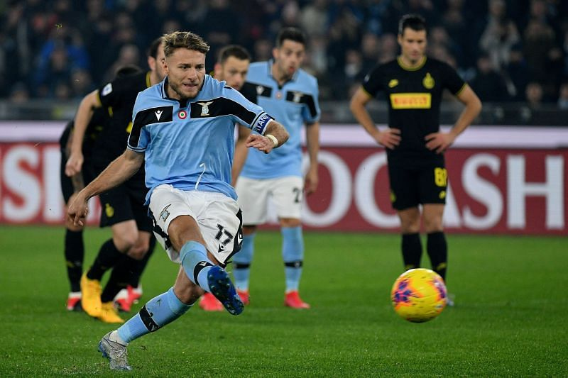 Ciro Immobile will be hoping to end the season as the league