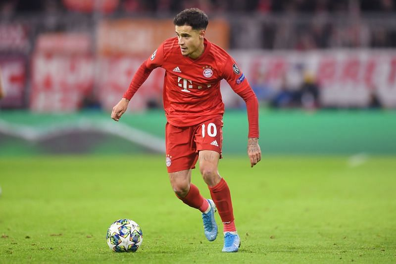 Phillipe Coutinho has been involved in 15 goals for Bayern Munich this season.