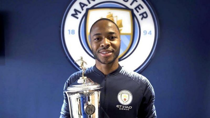 Raheem Sterling is the current holder of the award.
