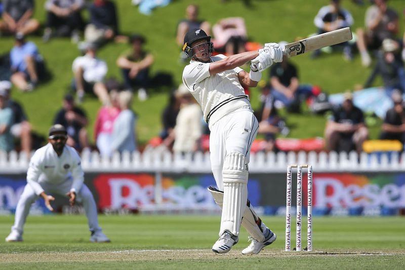 Kyle Jamieson is having a very good debut in Tests