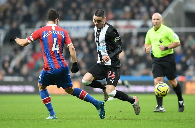 Crystal Palace and Newcastle United will lock horns in the Premier League this weekend