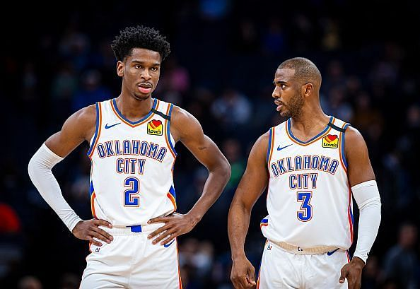 The Oklahoma City Thunder have been on a roll lately