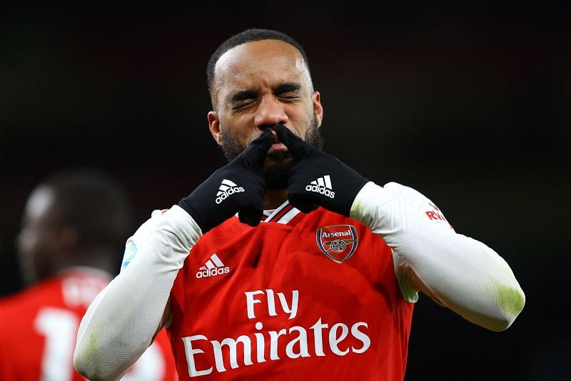 Alexandre Lacazette has been in fine form for Arsenal lately.