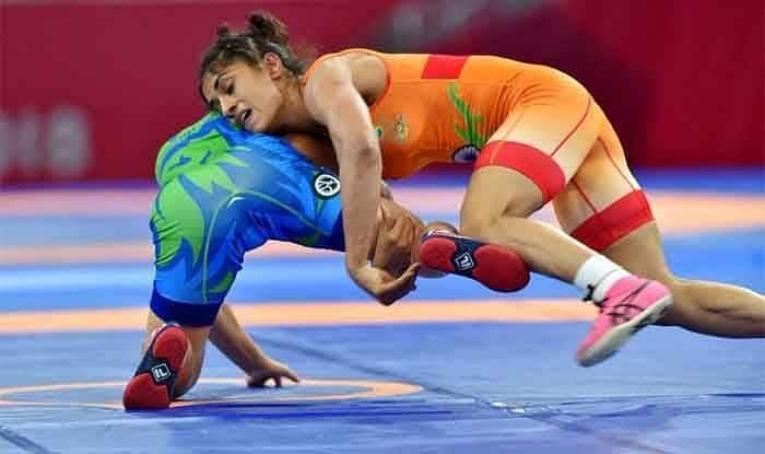 Vinesh Phogat was in action in the Women