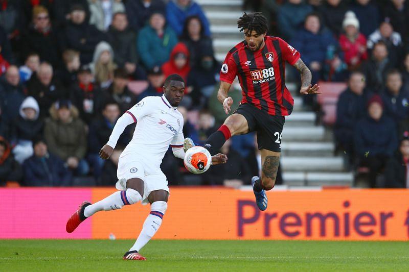 Fikayo Tomori had a sluggish outing against Bournemouth