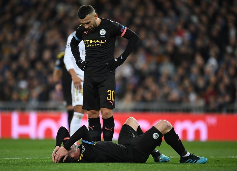 Laporte suffered another injury setback against Real Madrid