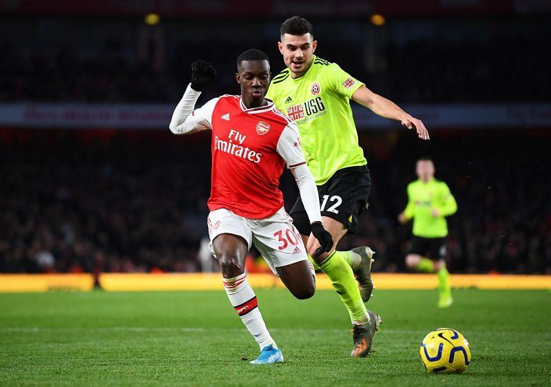 Eddie Nketiah is always hungry for goals.