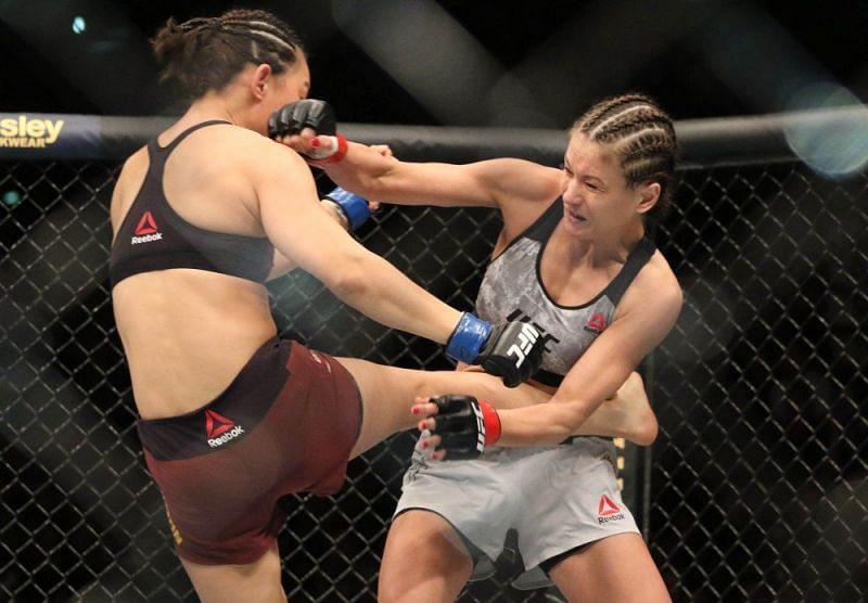 K arolina Kowalkiewicz struggled with an eye injury in her fight with Xiaonan Yan